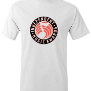 IMA Tee in White : Front