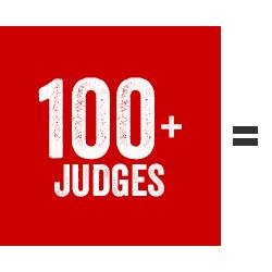 100+ Judges